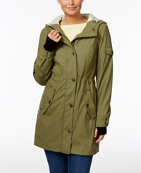 1 Madison Expedition Hooded Raincoat Cypress Green