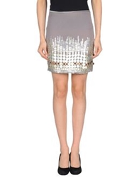 Angelina Mini Skirts Grey