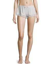 Eberjey Secret Attic Lace Lounge Shorts Earl Gray Earl Grey
