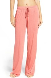 Daniel Buchler Washed Cotton Pants Pink