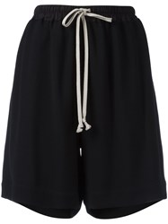 Rick Owens Relaxed Fit Shorts Black