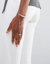 Low Luv X Erin Wasson Silver Plated Hand Harness Silver