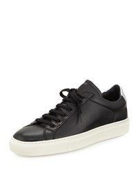 Common Projects Achilles Low Top Sneaker Black Silver