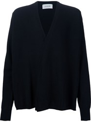 Christophe Lemaire Lemaire Draped Cardigan Black