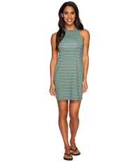 Carve Designs Sanitas Dress Canyon Stripe Women's Dress Blue