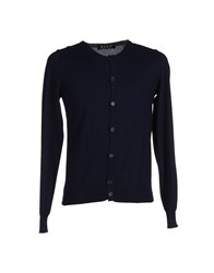 Bafy Knitwear Cardigans Men Dark Blue