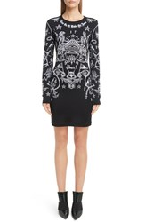 Givenchy Women's Tattoo Print Jersey Dress