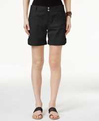 Inc International Concepts Cuffed Cargo Shorts Only At Macy's Deep Black