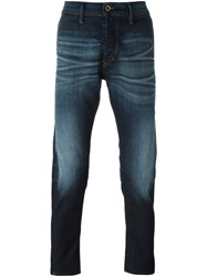 Diesel 'Carrot' Stretch Slim Jeans Blue