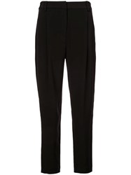 Co Tapered Trousers Black