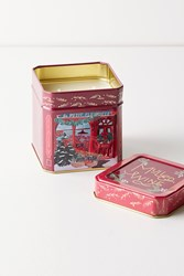Anthropologie Mulled Wine Scented Candle Red
