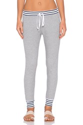 Splendid Thermal Mixed Venice Stripe Pant Gray