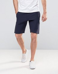 Champion Shorts With Small Logo Navy