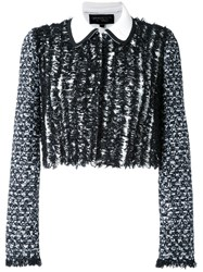 Giambattista Valli Tweed Jacket White