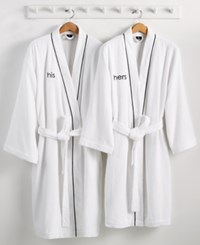 Hotel Collection His Or Hers Robe 100 Turkish Cotton Created For Macy's Bedding