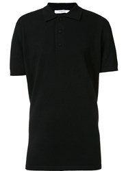 Givenchy Long Length Polo Shirt Black