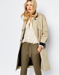 Sessun Hayao Trench Coat Beige