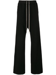 Rick Owens Drkshdw Flared Track Pants Women Cotton M Black