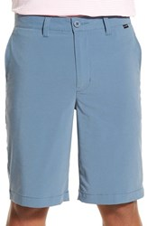 Travis Mathew Men's 'Hefner' Stretch Golf Shorts Provincial Blue