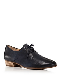 Paul Green Lace Up Oxford Flats Bastion Ocean