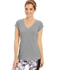 Ideology Essential Short Sleeve Performance Tee Silver Ice