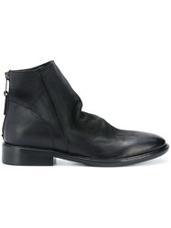 Strategia Slouchy Ankle Boots Black