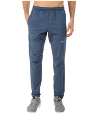 Nike Dri Fit Thermal Pants Squadron Blue Reflective Silver Men's Workout