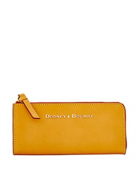 Dooney And Bourke Montecito Leather Wallet Butterscotch