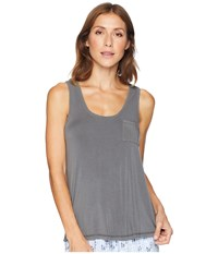 Pj Salvage P.J. Loungin' Around Tank Top Grey Sleeveless Gray