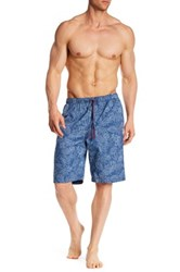Tommy Bahama Tonal Palm Lounge Short Blue