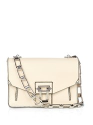 Proenza Schouler Hava Leather Shoulder Bag Cream