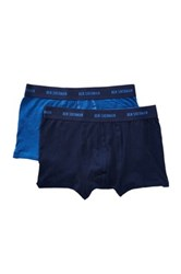 Ben Sherman Boxer Trunk Pack Of 2 Blue