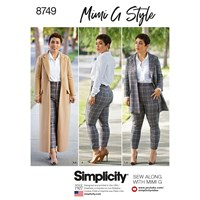 Simplicity Mimi G Style Coat And Trousers 8749