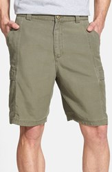 Tommy Bahama Men's Big And Tall 'Key Grip' Relaxed Fit Cargo Shorts Bean
