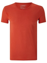 J. Lindeberg Cody Cotton T Shirt Red