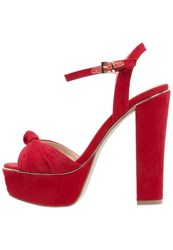 Primadonna Collection High Heeled Sandals Rosso Red