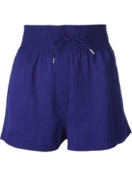 Acne Studios 'Kyra Li' Shorts Blue