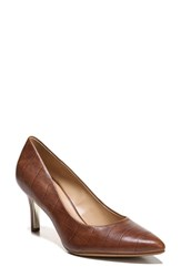 Naturalizer Natalie Pointy Toe Pump Croco Leather