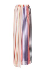 Missoni Mare Variegated Stripe A Line Skirt