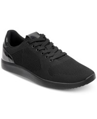 Guess Catchings Low Top Sneakers Shoes Black