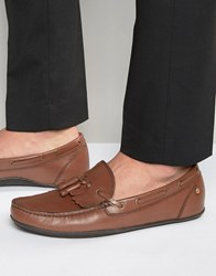 Frank Wright Busby Derby Shoes In Brown Leather Brown