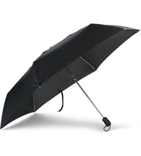 Fulton Super Slim Umbrella Black