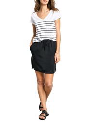 Hush Striped V Neck T Shirt