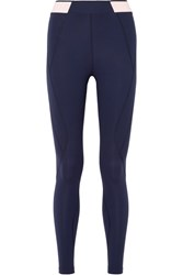 Lndr Marvel Paneled Stretch Leggings Navy