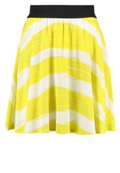 United Colors Of Benetton Gonna Aline Skirt Yellow