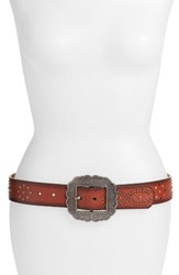 Another Line Women's Studded Western Belt