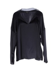 Giorgio Armani Shirts Blouses Women Dark Blue
