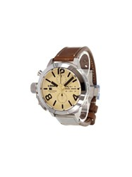 U Boat 'Classico Tungsten' Analog Watch Stainless Steel