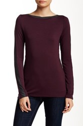 Sen Kinley Long Sleeve Pullover Red