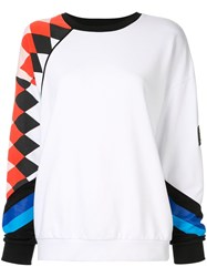 P.E Nation Aspendos Sweatshirt White